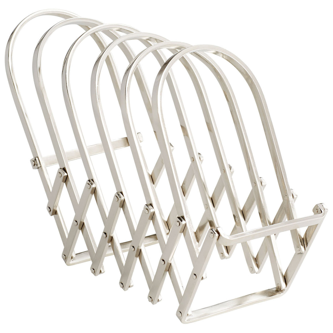 Accordian Magazine Rack 08977 by Cyan Design