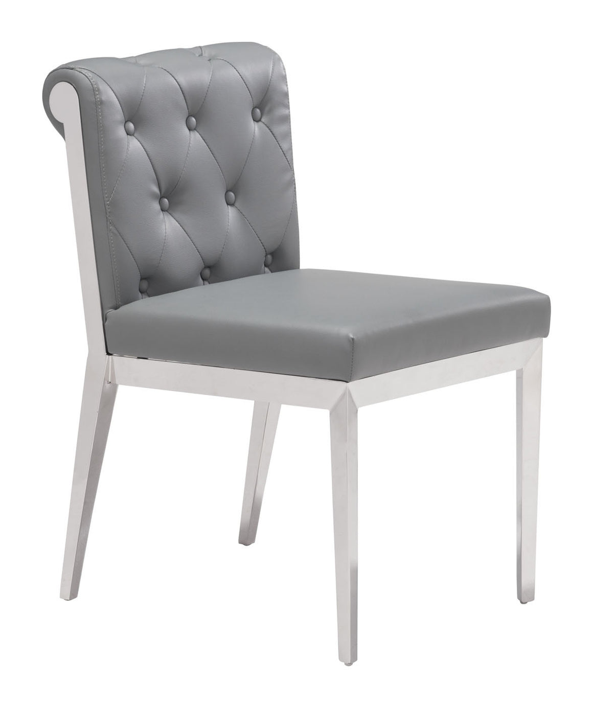 Aris Dining Chair Gray Set of 2