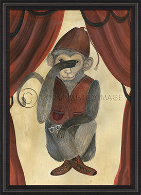 10096 BCBL See No Evil II Framed Art