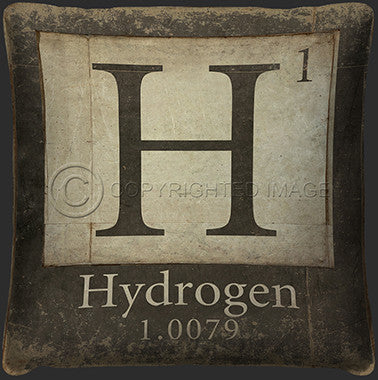 10122 Hydrogen Element Pillow