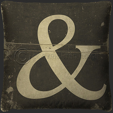 10124 Ampersand Pillow