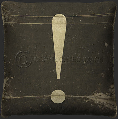 10125 Exclamation Pillow