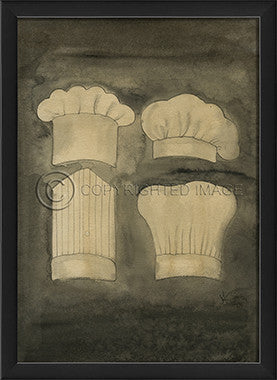 10172 EB Chef 5 Framed Art