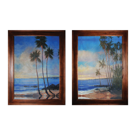 Embellished Tropical Breeze I & Ii by Sterling