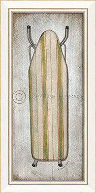 10261 KI Ironing Board 2013 Framed Art