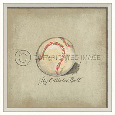 10276 WC Baseball Framed Art