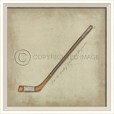 10280 WC Hockey Stick Framed Art