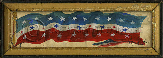 10360 Flag 7 Framed Art