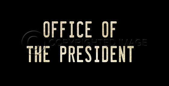 10377 Office of the President Sign Framed Art