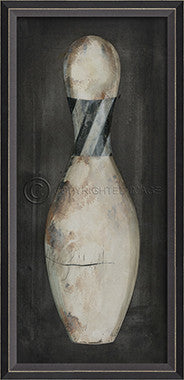 10408 BC Bowling Pin 4 Framed Art