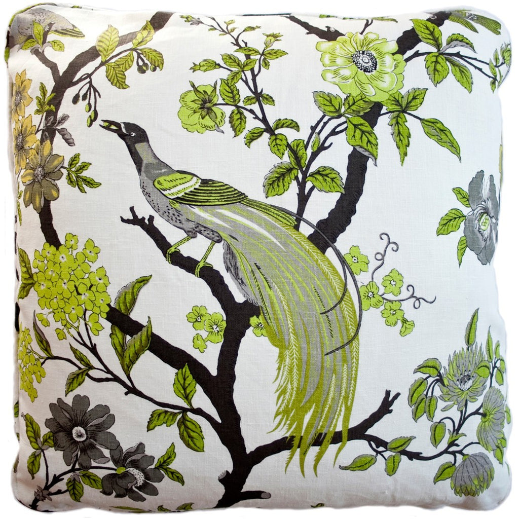 Doris Lime Decorative Throw Pillow by Stuart Lawrence