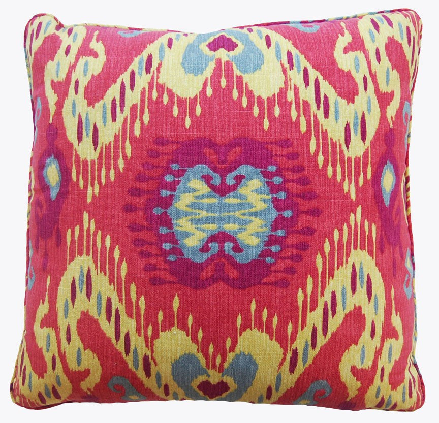 Persia Red Decorative Throw Pillow by Stuart Lawrence