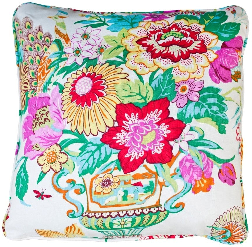 Liberty Multi Decorative Throw Pillow by Stuart Lawrence