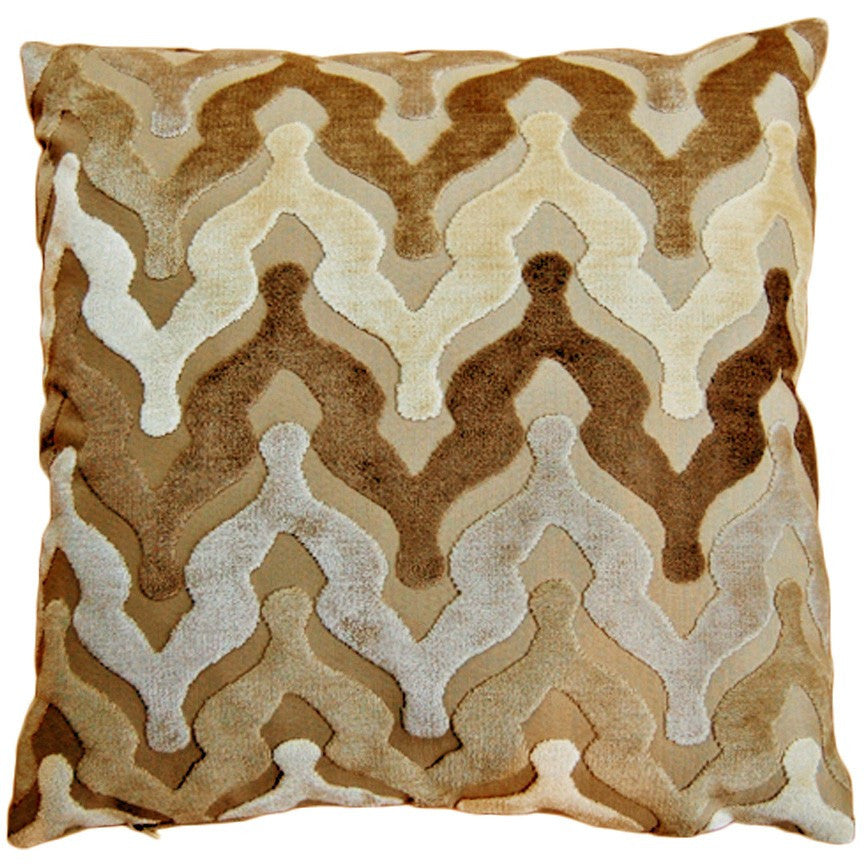 Waves Sand Decorative Throw Pillow by Stuart Lawrence