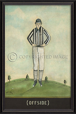 11034 BC Offside Framed Art
