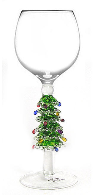 Goblet with Christmas Tree - W221