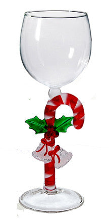 Goblet with Candy Cane - W289