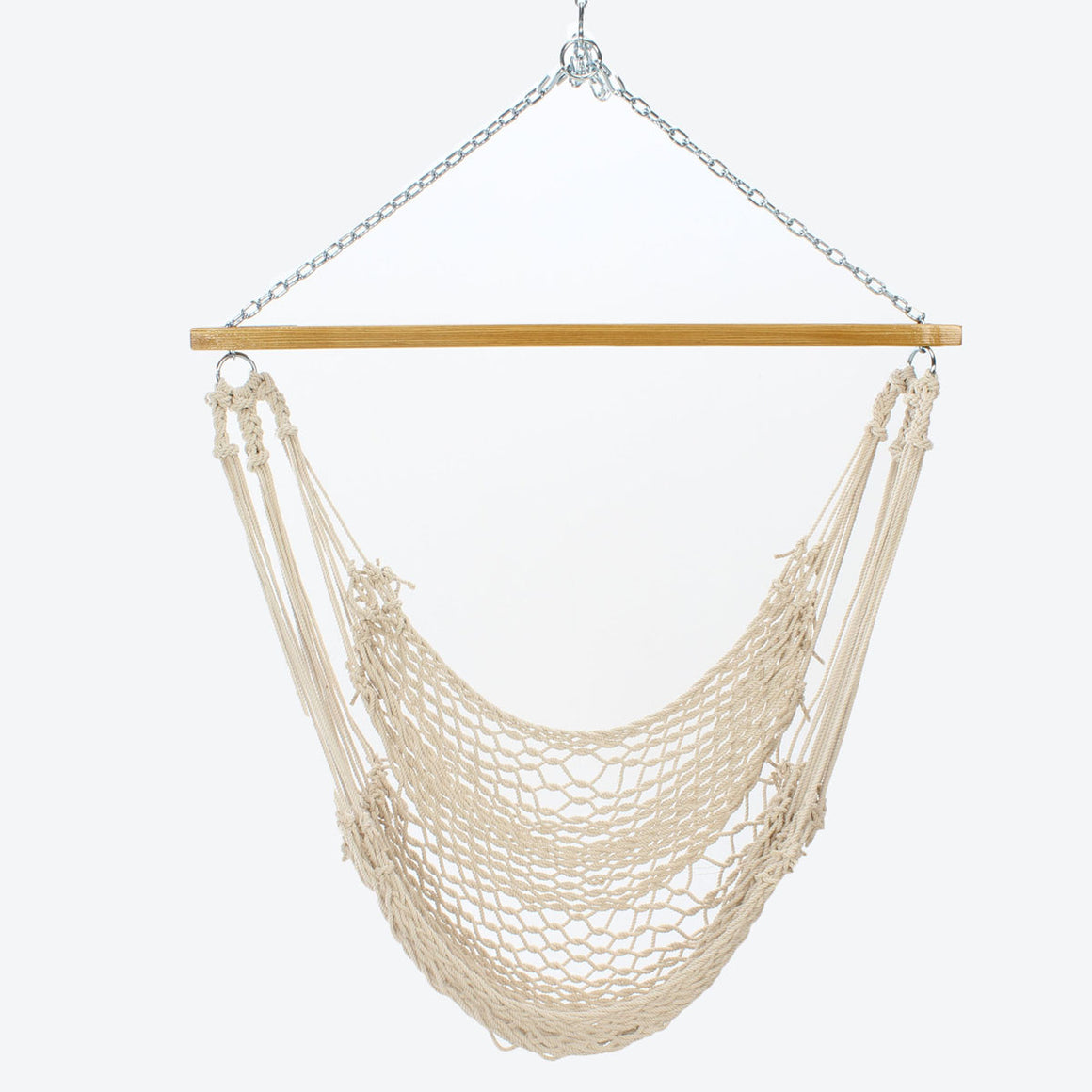 hammock chair islandbayropehammockchair bay cfm hayneedle inuse island rope product cotton