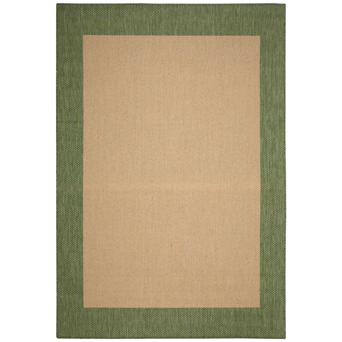 Islander Natural Green Outdoor Porch Rug