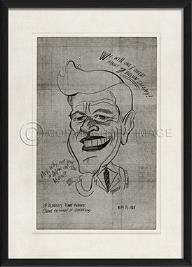 11598 EB John F Kennedy Framed Art