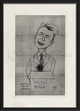 11607 EB Ronald Reagan Framed Art
