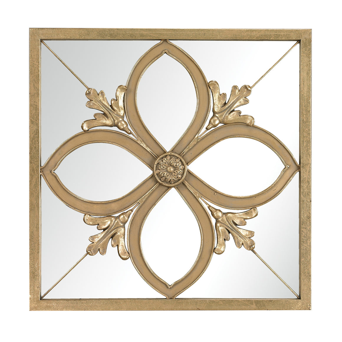 Albern Four Leaf Clover Mirror by Sterling