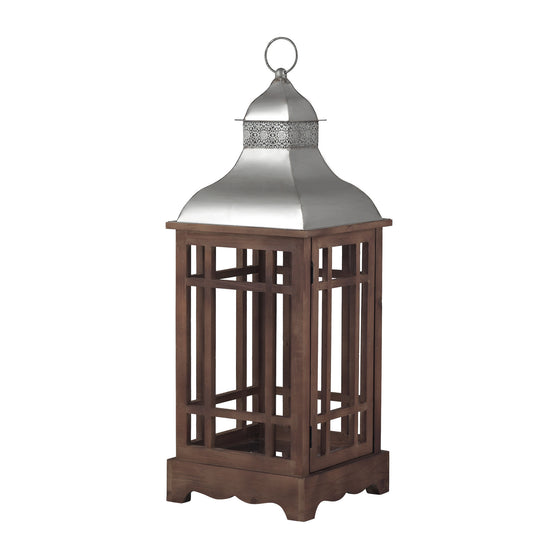 Poynton Outdoor Lantern (Large) by Sterling