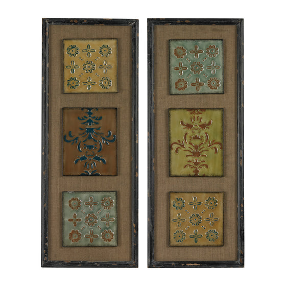 Aughton-Spanish Tile Wall Decor  by Sterling