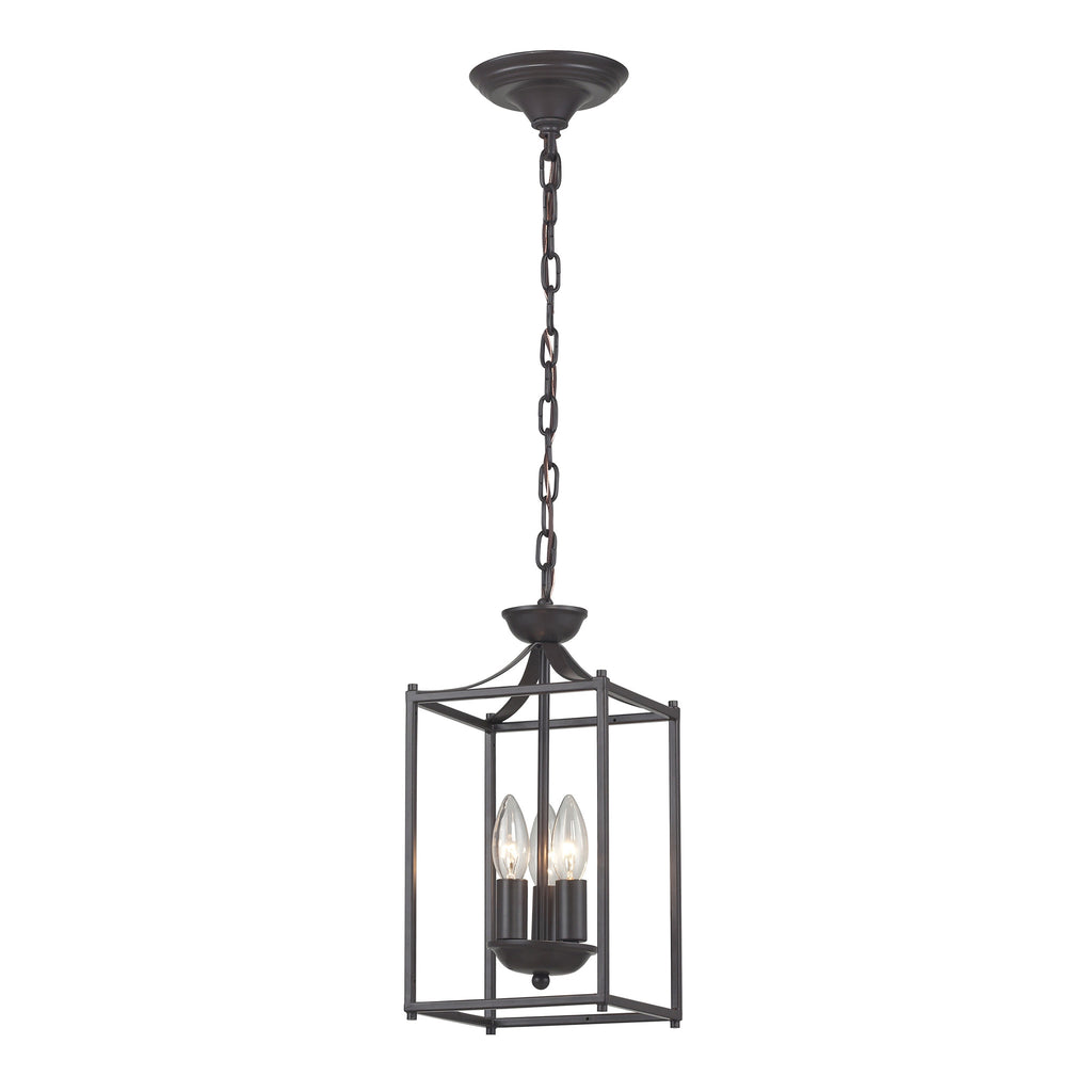 Arthur-Rustic Iron Lantern  by Sterling