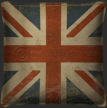15037 British Flag Pillow