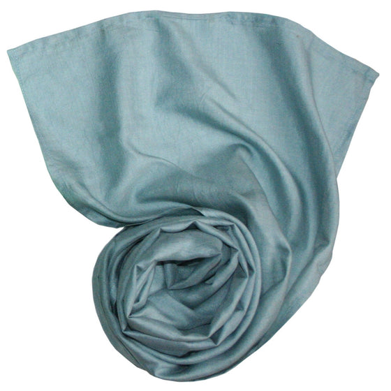 Organic Silk: Moonstone Shimmer Scarves by Sustainable Threads