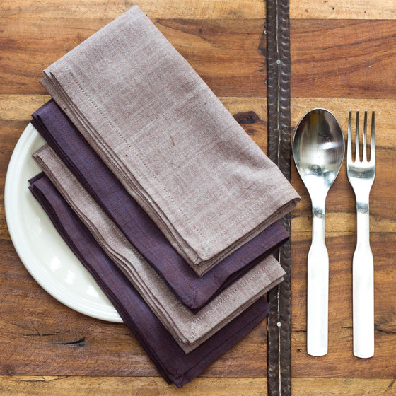 Dusk Napkins by Sustainable Threads