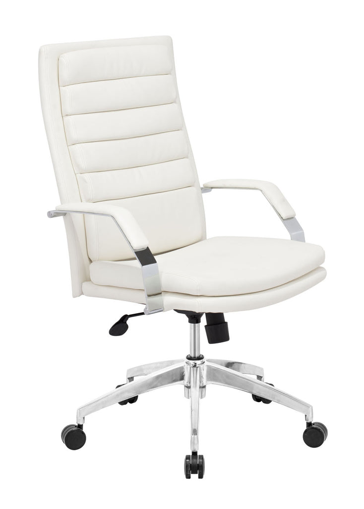 Director Comfort Office Chair White