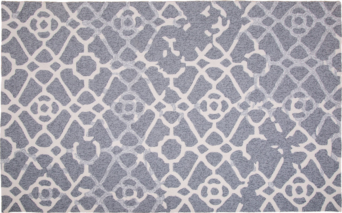 MAT Orange SLNHERGRY Area Rug in Grey