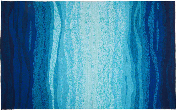 MAT Orange SLNVISBTE Area Rug in Blue Turquoise