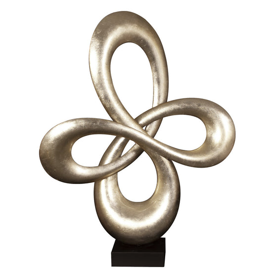 Abstract Infinity Sculpture 22098 by Howard Elliott