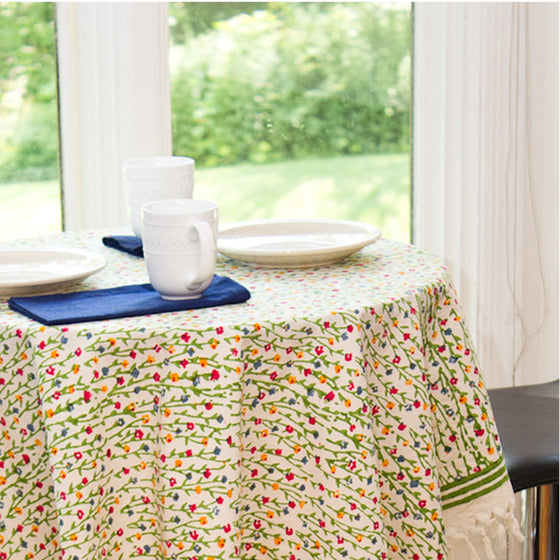 Fiesta Tablecloth by Sustainable Threads