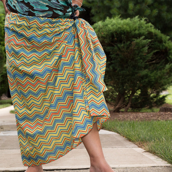 Tequila Sunrise Sarong by Sustainable Threads