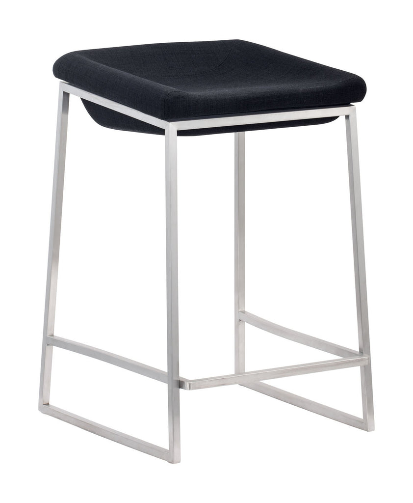 Lids Counter Stool Dark Gray (Set of 2)