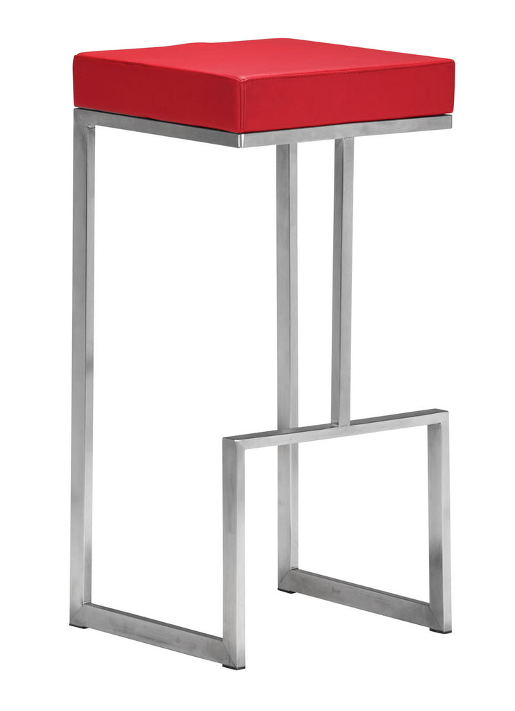 Darwen Barstool Red (Set of 2)