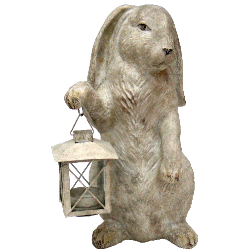 Wonderland Bunny Tealight Candleholder by Oriental Danny