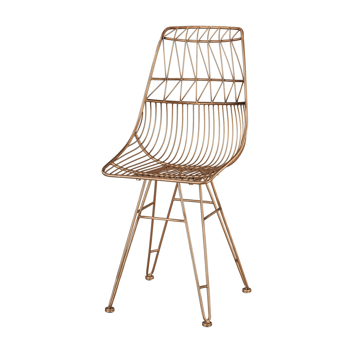 Jette Chair In Rose Gold