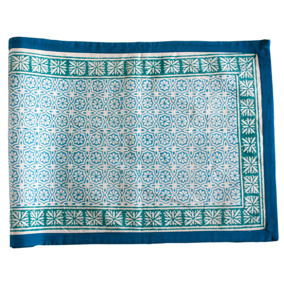 Delight Sea Table Runner by Sustainable Threads