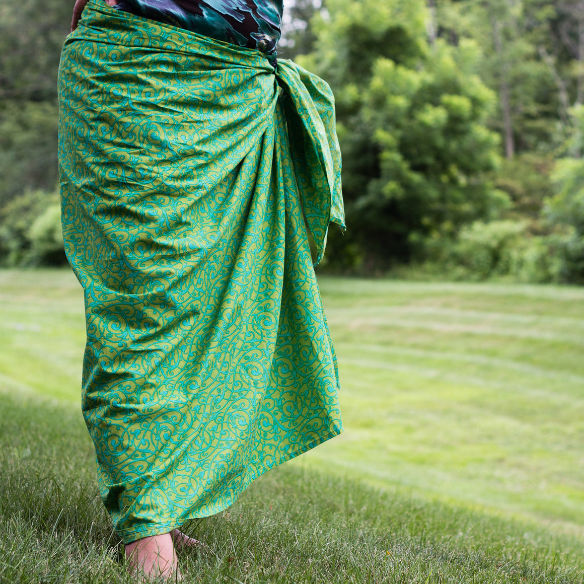 Mint Julep Sarong by Sustainable Threads