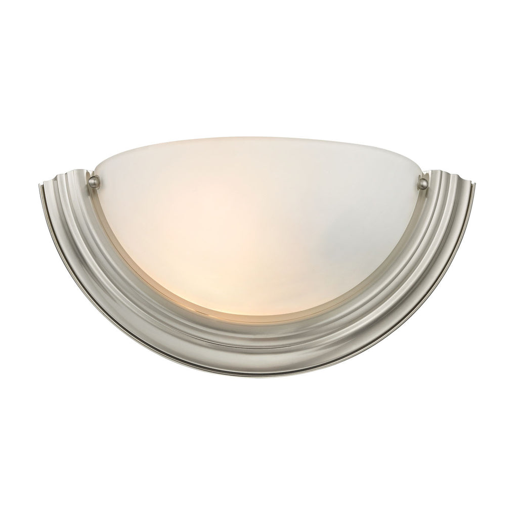 1 Light Wall Sconce In Brushed Nickel 5151WS/20 by Thomas Lighting