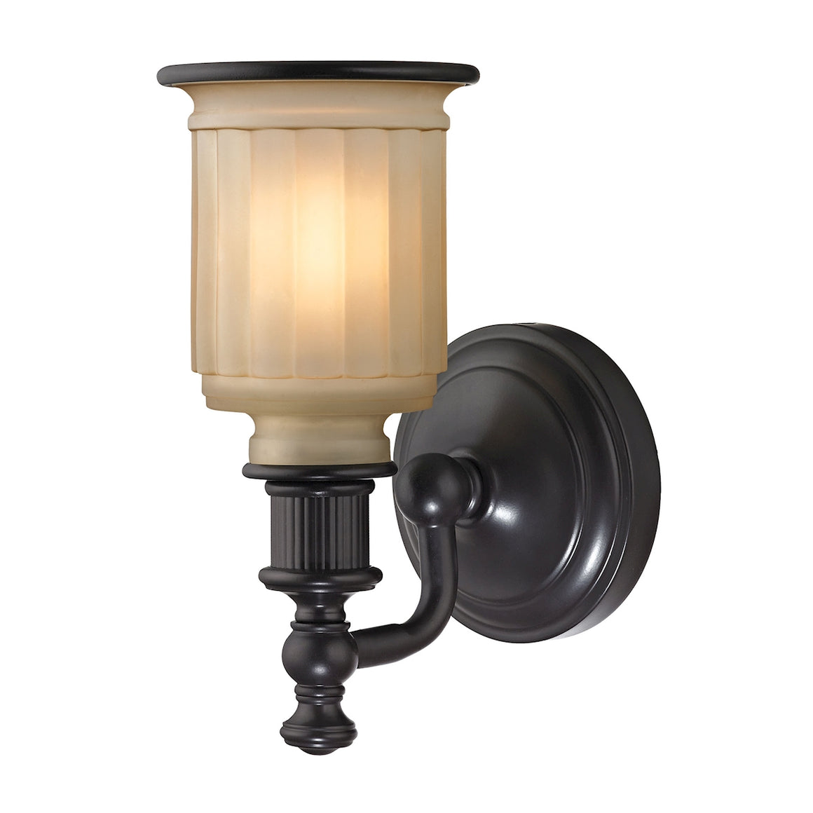 Acadia 1 Light Vanity In Oil Rubbed Bronze 52010/1 by Elk Lighting
