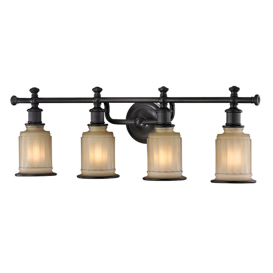 Acadia 4 Light Vanity In Oil Rubbed Bronze 52013/4 by Elk Lighting