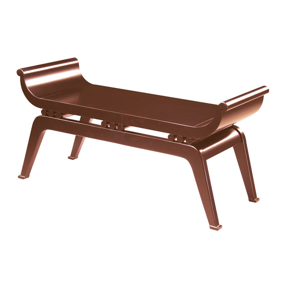Dynasty Bench - Cherry 6041092 by Sterling