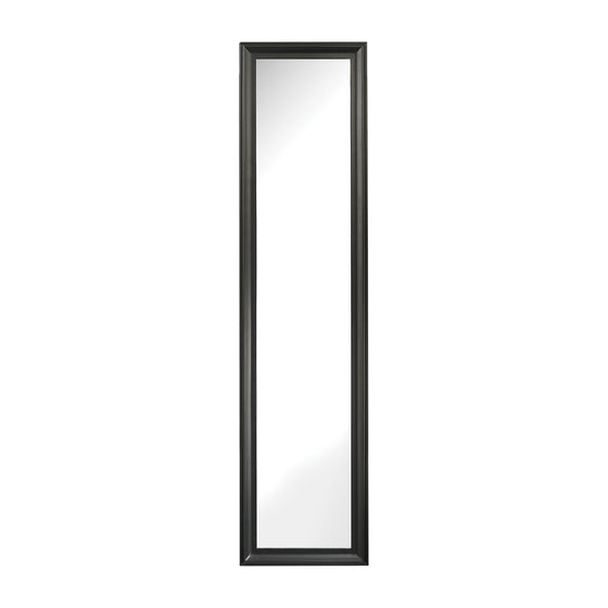 Aged Black Dressing Mirror