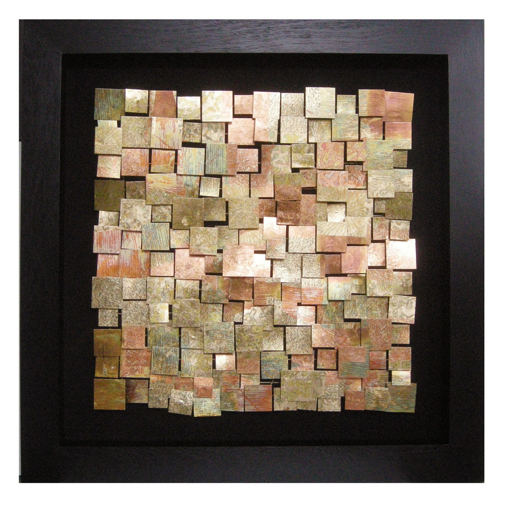 Acid Treated Copper Wall Art 64036 by Howard Elliott